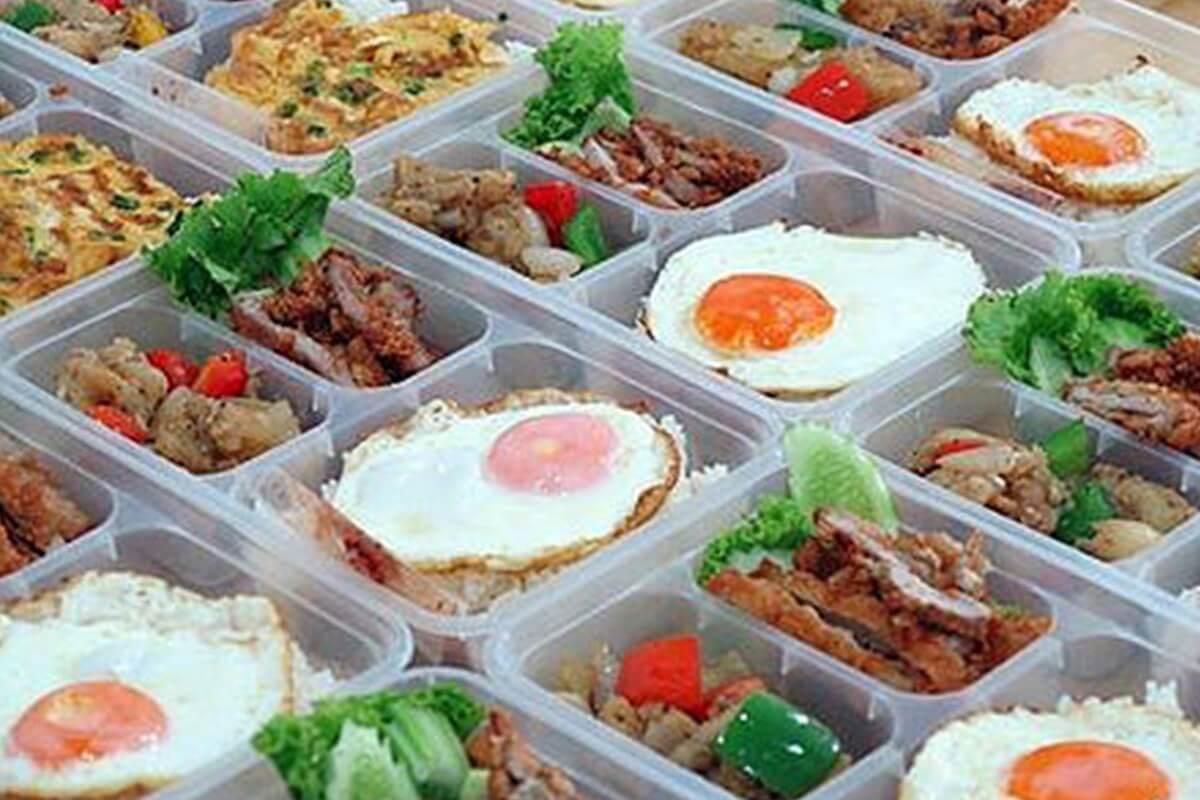 ข้าวกล่อง, อาหารจานด่วน