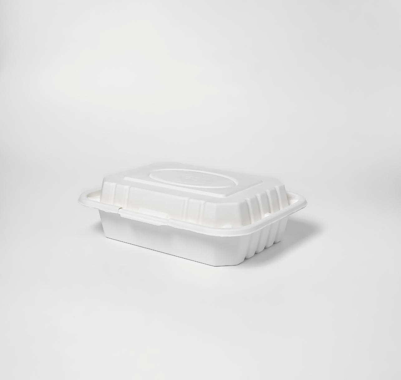 กล่องอาหารเยื่อธรรมชาติ 1000ml