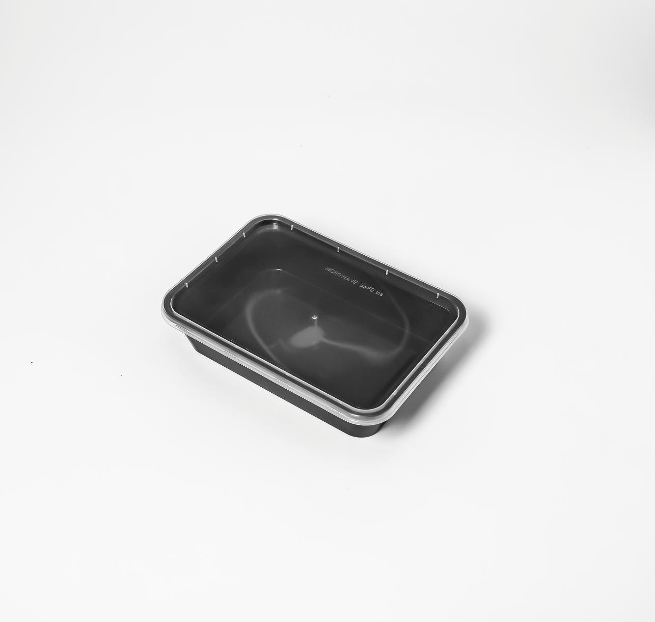 กล่องอาหารพลาสติก 1 ช่อง premium 500ml