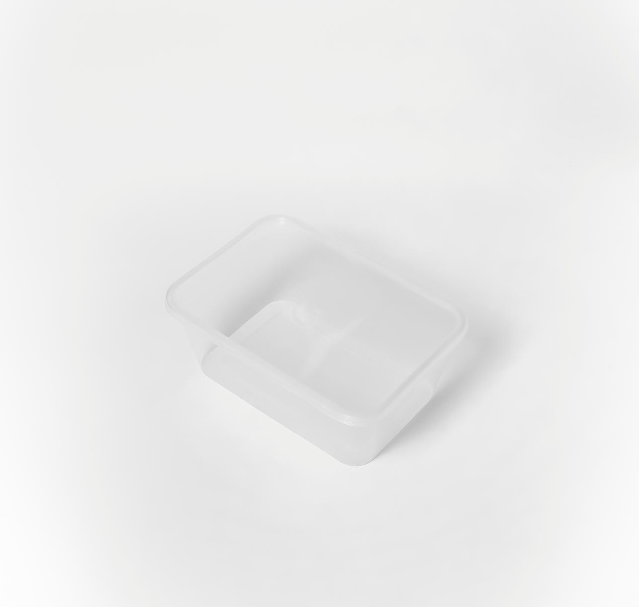 กล่องอาหารพลาสติก 1 ช่อง premium 1,000ml