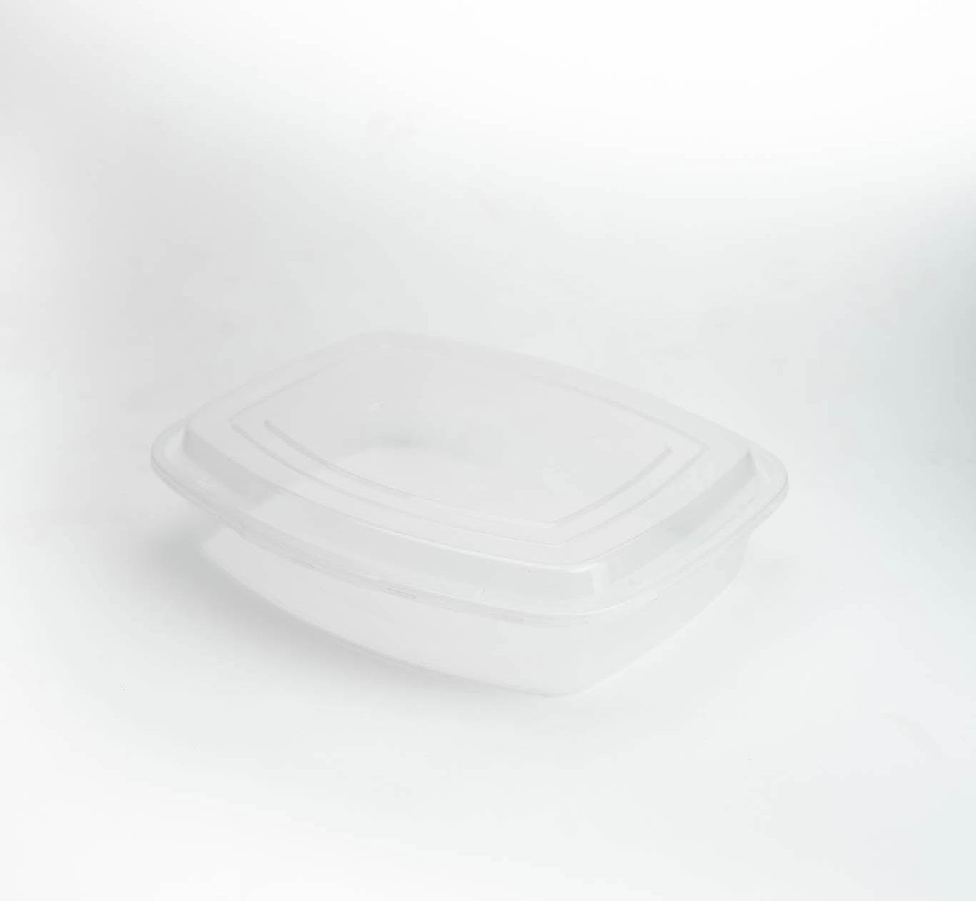 กล่องสลัดพลาสติกใส 1250ml