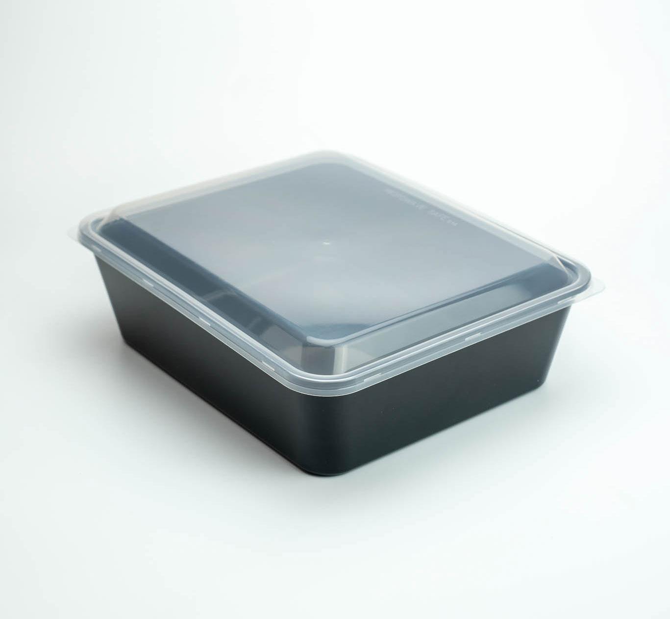 กล่องอาหารพลาสติก 1 ช่อง premium 2750ml