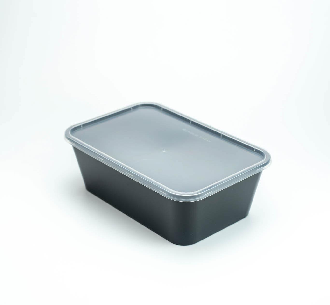 กล่องอาหารพลาสติก 1 ช่อง premium 1500ml