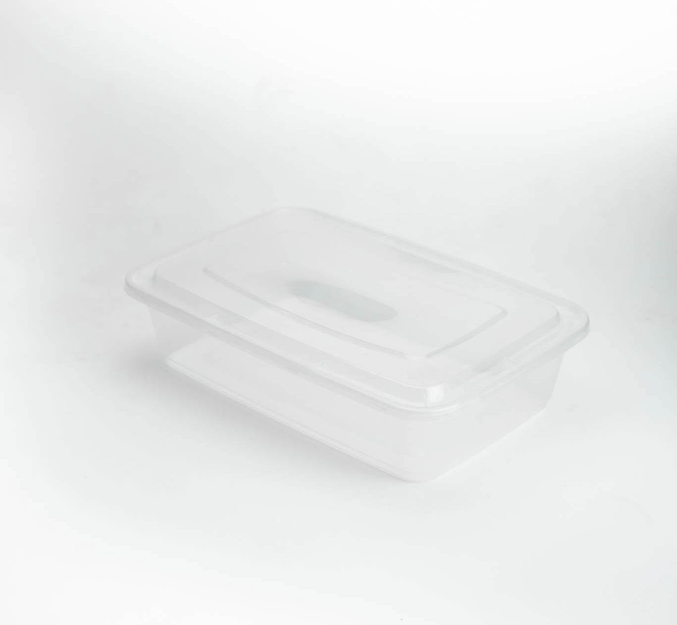 กล่องอาหารพลาสติก 1500ml