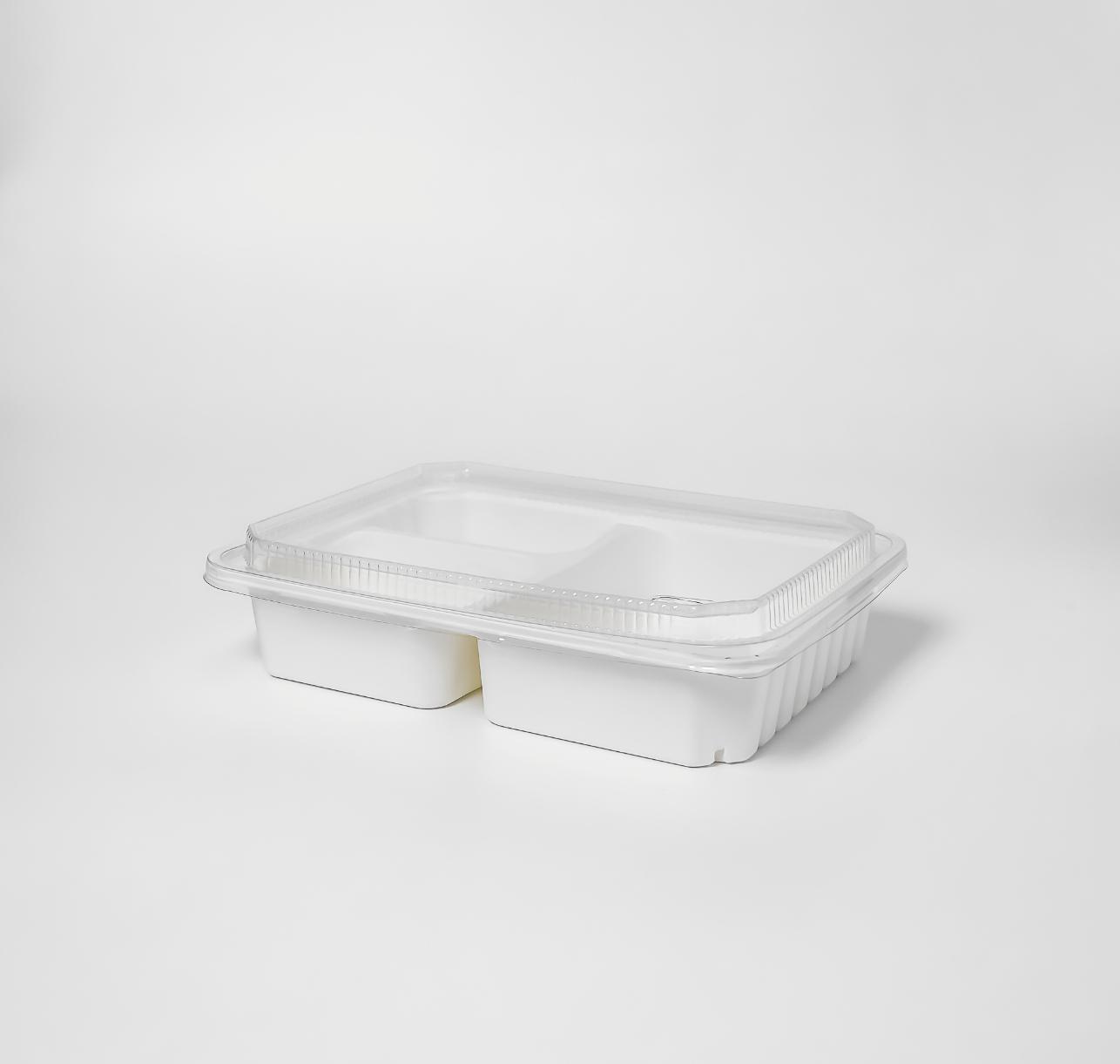 กล่องเยื่อธรรมชาติ Eco Hybrid 3 ช่อง 1000ml
