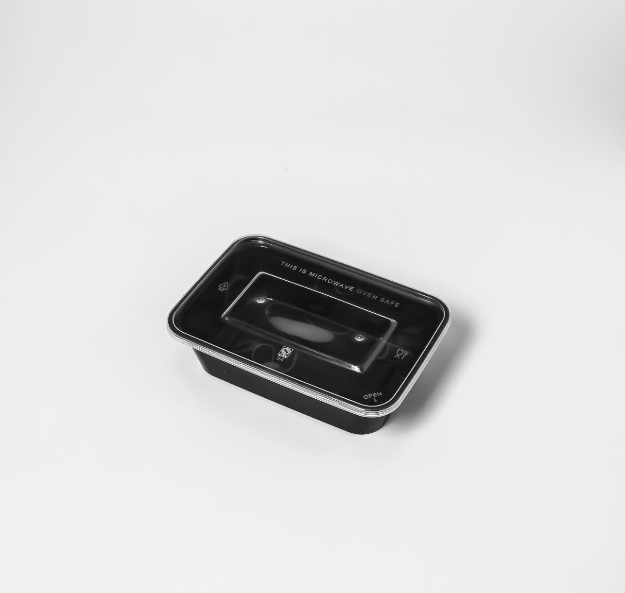 กล่องอาหารพลาสติก 1 ช่อง simple 650ml