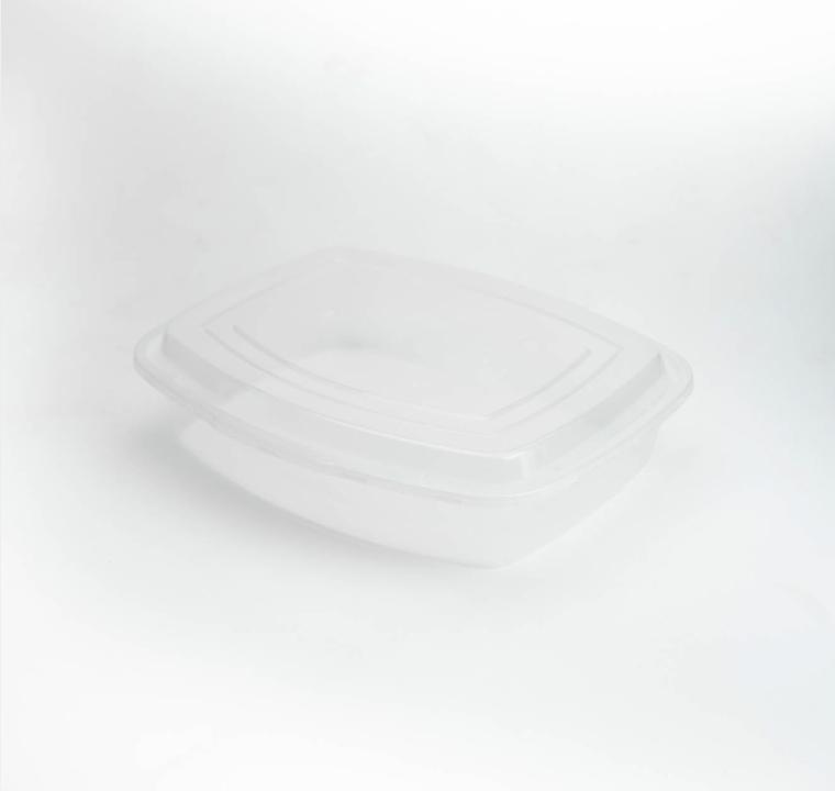 กล่องสลัดพลาสติกใส simple 1250ml