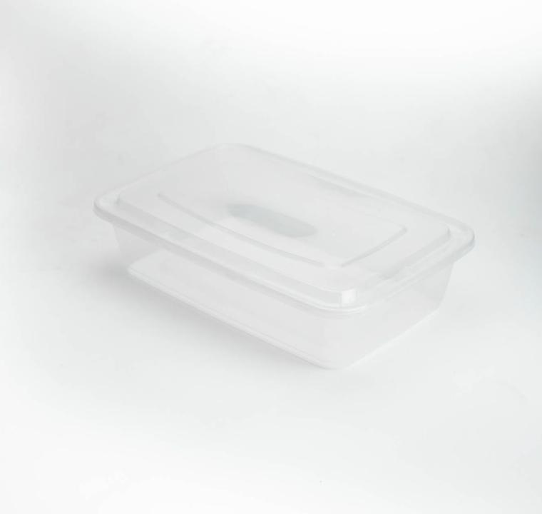 กล่องอาหารพลาสติก simple 1500ml