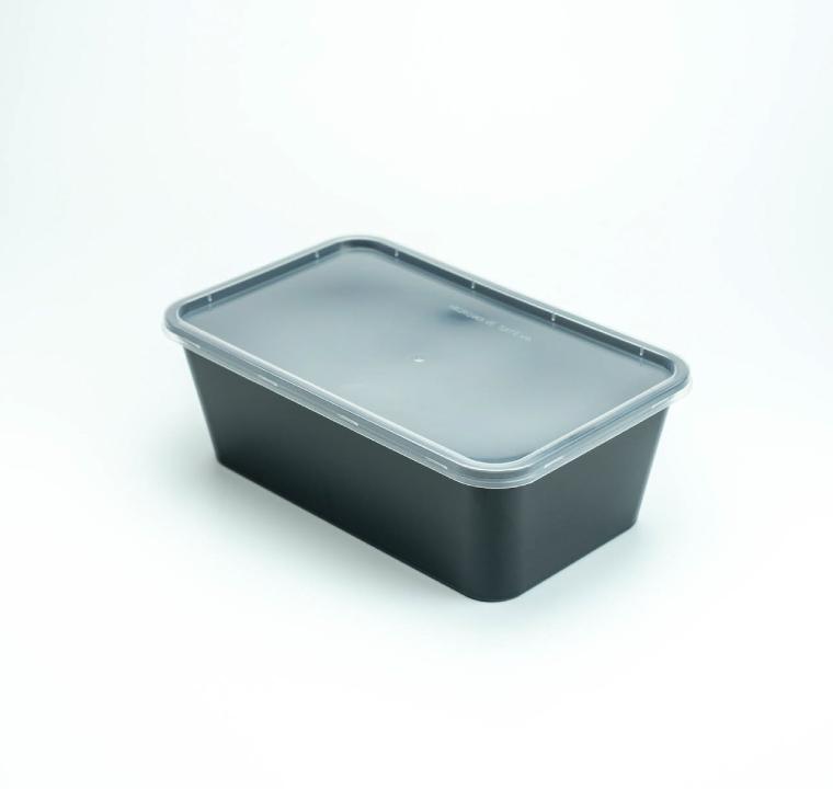 กล่องอาหารพลาสติก 1 ช่อง premium 1200ml