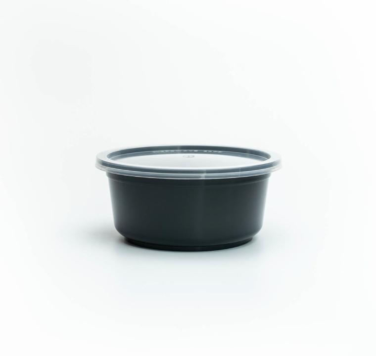 ชามพลาสติกพร้อมฝา premium 750ml
