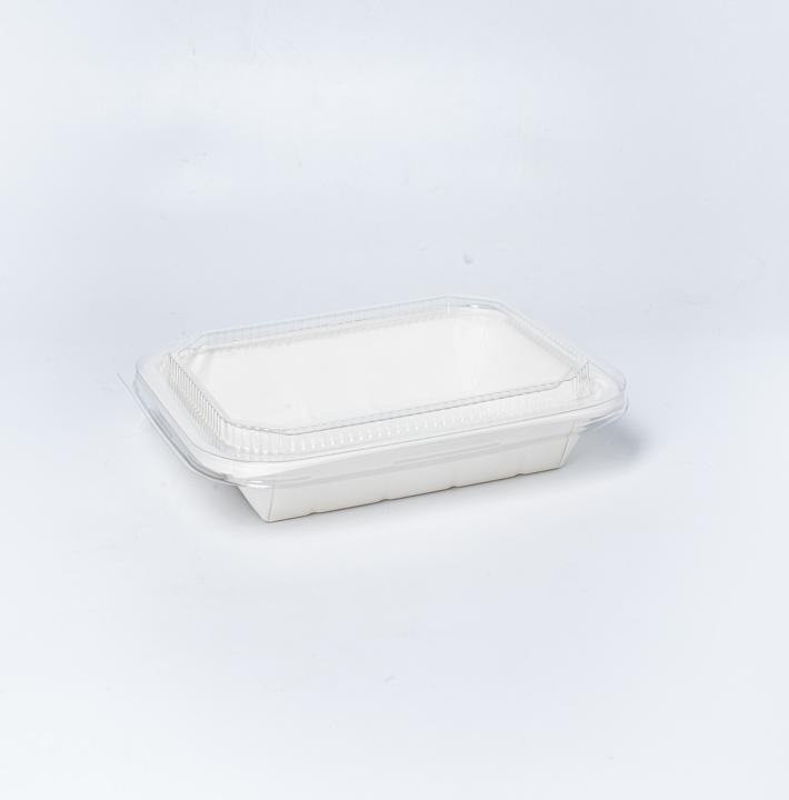 กล่องอาหารกระดาษ Eco Coated Hybrid 1000ml