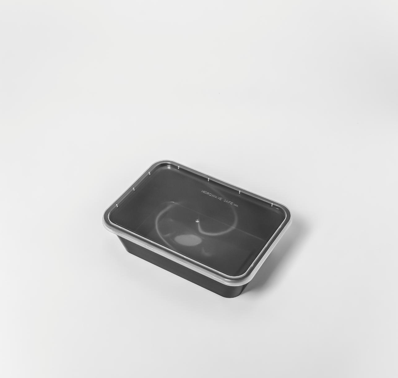 กล่องอาหารพลาสติก 1 ช่อง premium 650ml