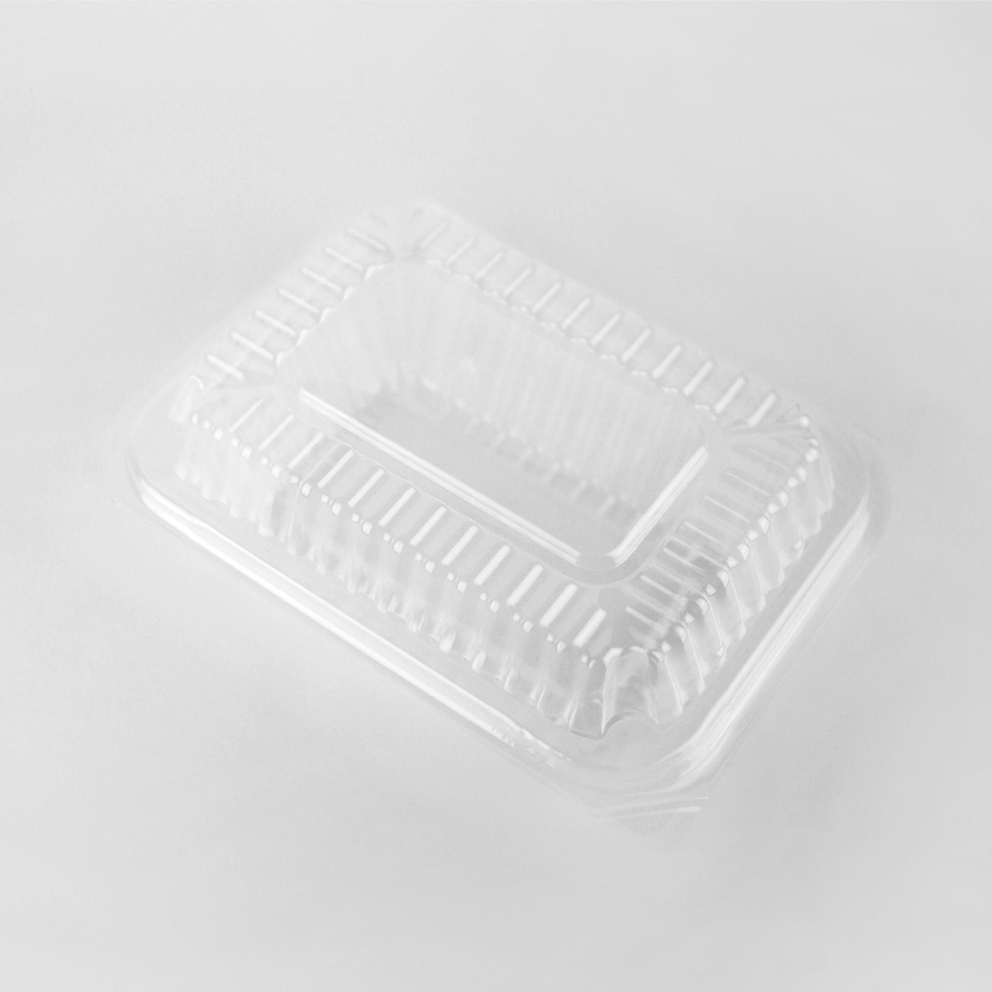 กล่องอาหารพลาสติกฝาพับ 1 ช่อง simple 600ml