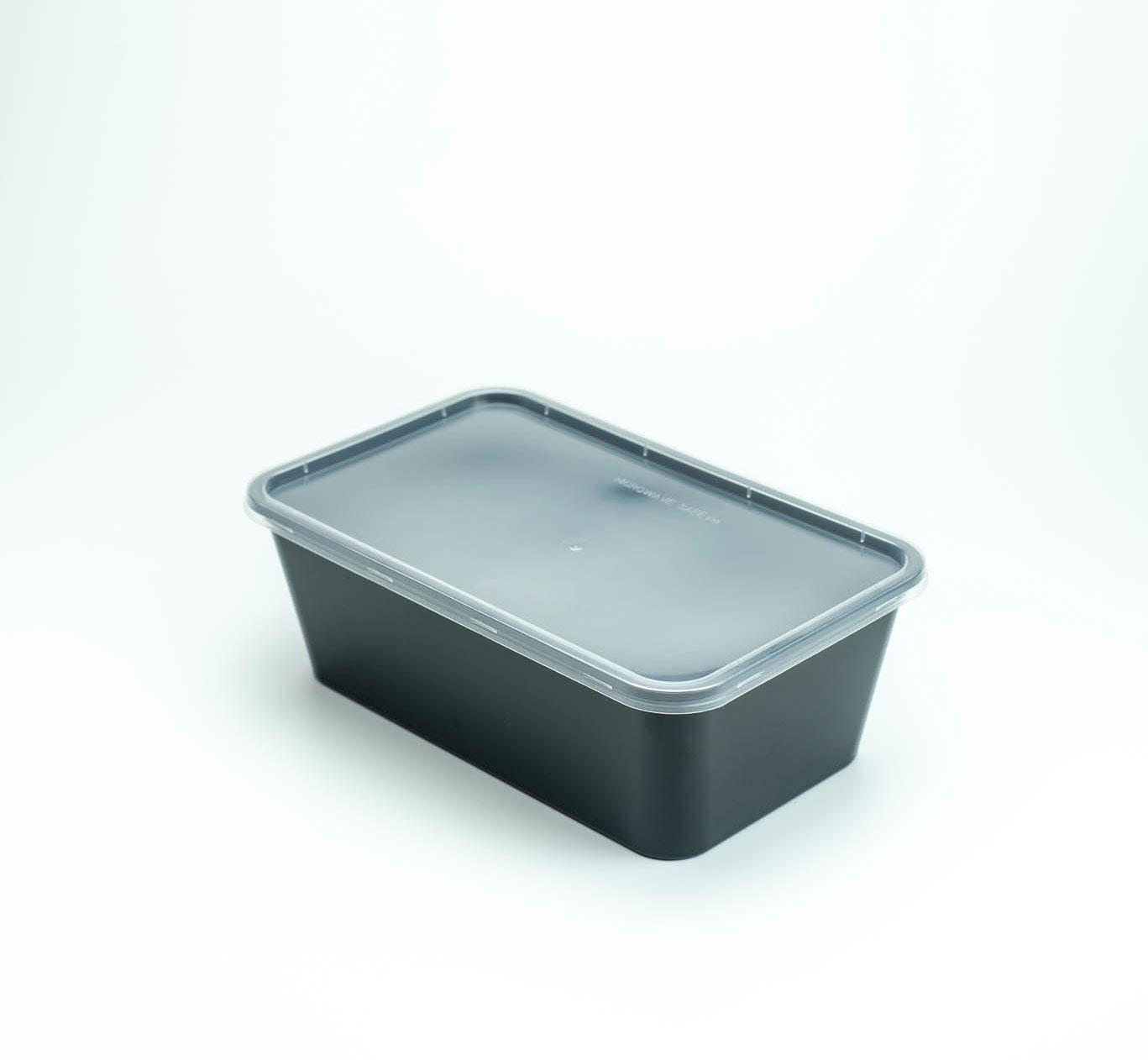 กล่องอาหารพลาสติก 1 ช่อง premium 1000ml