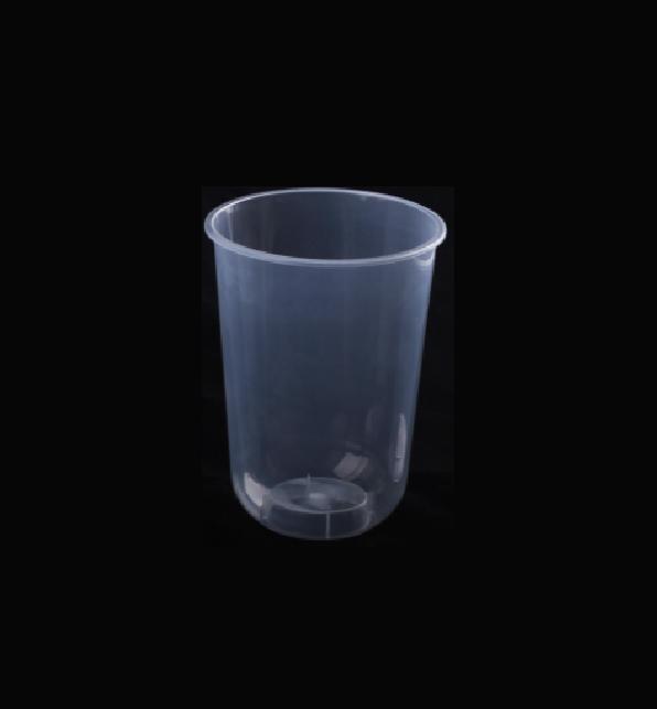 แก้ว PP แข็ง 16oz Capsule ปาก 90mm