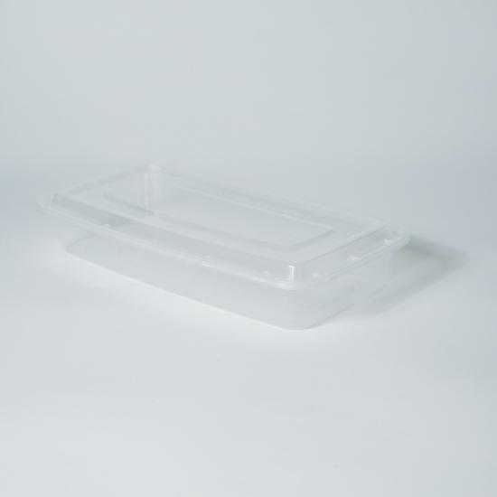 กล่องอาหารพลาสติก (กล่องปลา) 1 ช่อง premium 2000ml
